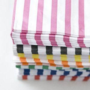 Candy Stripe Bags