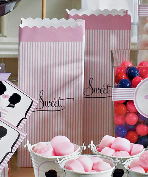 Sweet Printed Paper Bags
