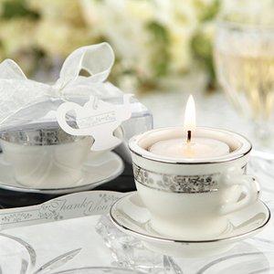 Tealights Miniature Porcelain Teacups