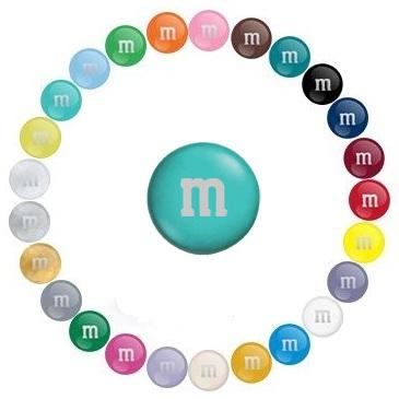 USA 7oz M&M's ~ Aqua
