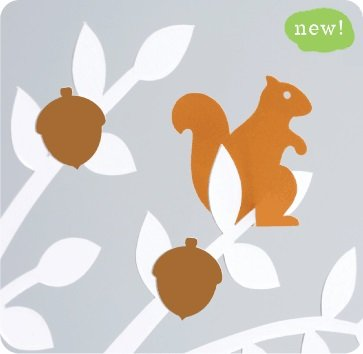 Wishing Tree Extras - Acorns and Squirrels